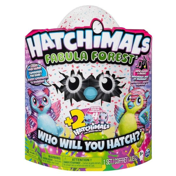 Hatchimals Fabula Forest Tigrette With Two Collegtible Figures